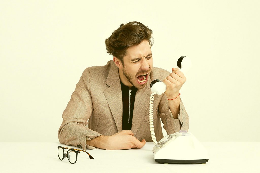 Harassing phone calls - Photo by Moose Photos from Pexels